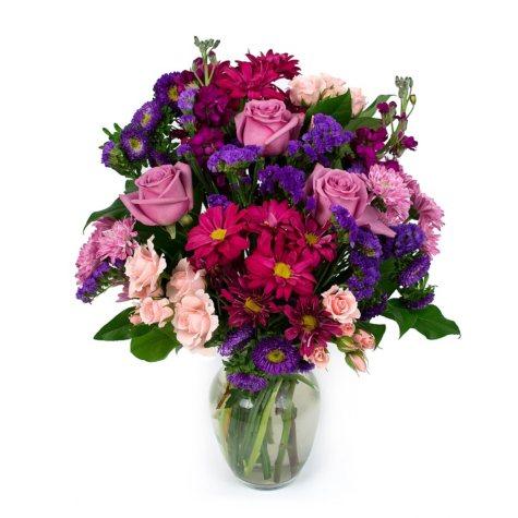Lavender Dream Bouquet (Vase Included)