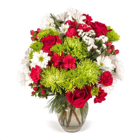 Merry & Bright Holiday Bouquet