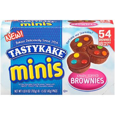 Tastykake Kandy Topped Brownies (18 ct., 27 oz.)