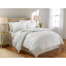 Waverly 300-Thread-Count Cotton White Duck Down Comforter