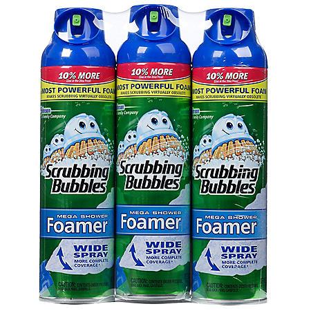 Scrubbing Bubbles Mega Shower Foamer - 22 oz. - 3 pk.