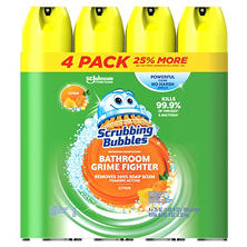 Scrubbing Bubbles Lemon Foaming Bathroom Cleaner (25 oz., 4 pk.)