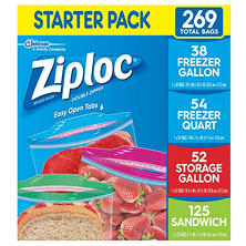 Ziploc Starter Pack (269-ct.)