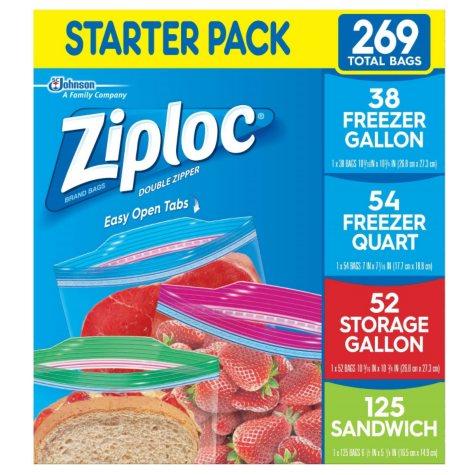 Ziploc Starter Pack (269 ct.)