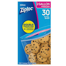 Ziploc Freezer Bags, 2 Gallon