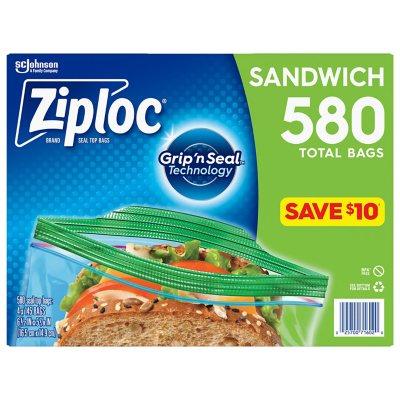 Ziploc Sandwich Bag (580 ct)  sc 1 st  Samu0027s Club & Food Storage Bags - Samu0027s Club