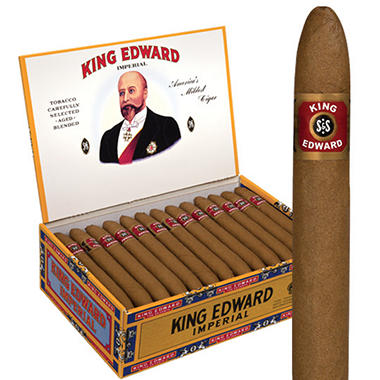 King Edward Imperial Cigars(5 ct., 10 pk.)