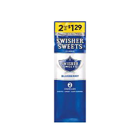 Swisher Sweets Blueberry Cigarillos (2 pk., 30 ct.) Pre-priced 2/$1.29