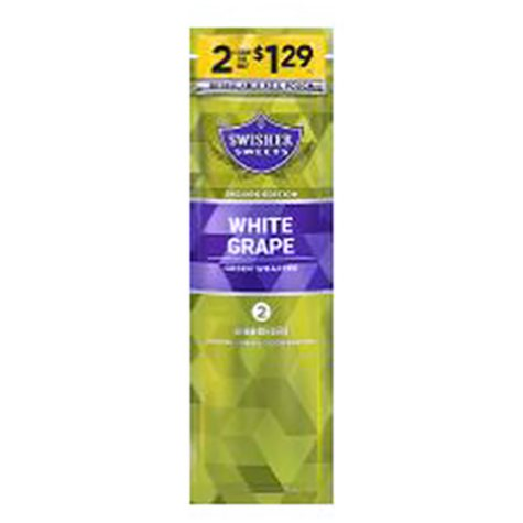 xoffline-Swisher Sweets White Grape Cigarillos (2 pk., 30 ct.) Pre-priced 2/$1.29