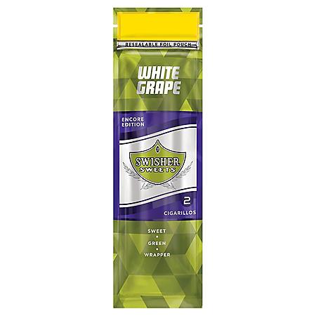 Swisher Sweets White Grape Cigars (2 pk., 30 ct.)