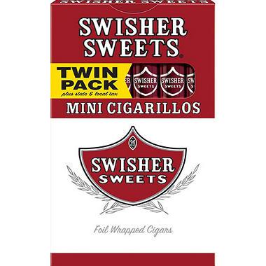 swisher sweets mini cigarillos (10/12., 120 ct.) - sam's club