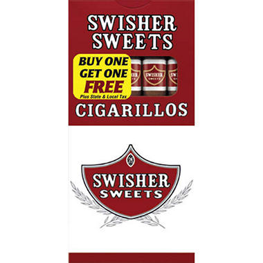Swisher Sweets Cigarillos (10/10 pk., 100 ct.)