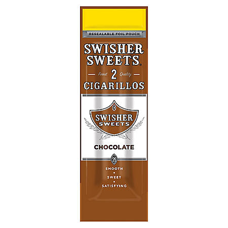 Swisher Sweets Cigarillos, Chocolate (2 pk., 30 ct.)