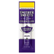 Swisher Sweets Cigarillo, Grape, Pre-Priced 2/$.99 pk. (2 pk, 30 ct.)