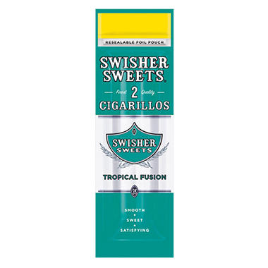 Swisher Sweets BLK Cigarillo, Cherry (2 pk, 15 ct.)