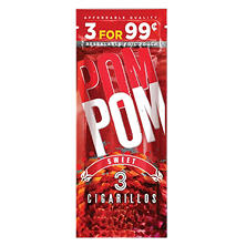 Swisher Sweets Cigarillo Pom Pom Sweet Pre-Priced (3 pk, 15 ct.)