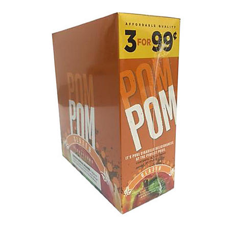 PomPom Glazed Cigars, Prepriced 3  for $0.99 (3 ct., 15 pk.)