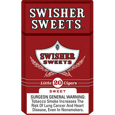 Swisher Sweets Tip Pack Cigarillos, 5 for 3 (100 ct.)