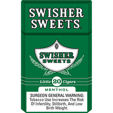 Swisher Sweets Lil Cigars Menthol - 200 ct. box