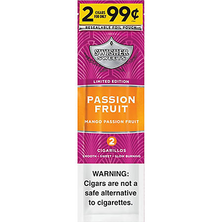 Swisher Sweets Passion Fruit Cigars 2/$0.99 (2 pk., 30 ct.)