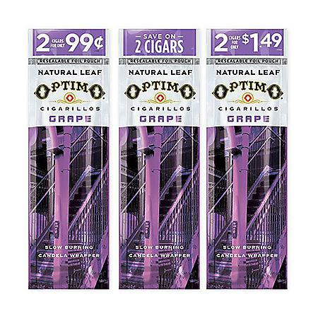 Optimo Cigarillos, Grape (30 ct., 2 pk.)