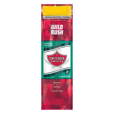Swisher Sweets Cigarillos Wild Rush 2 Pk 30 Ct