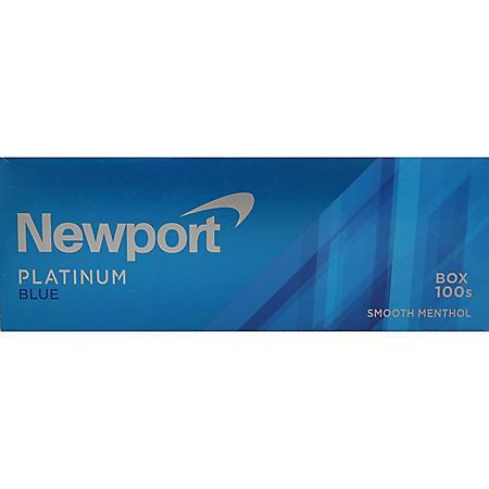 Newport Platinum Blue 100s Box (20 ct., 10 pk.)