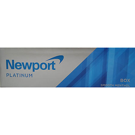 Newport Platinum Smooth Menthol King Box (20 ct., 10 pk.)