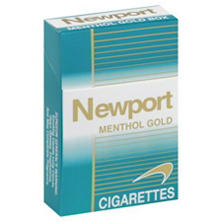 Newport Menthol Cigarettes, Gold Box (200 ct.)