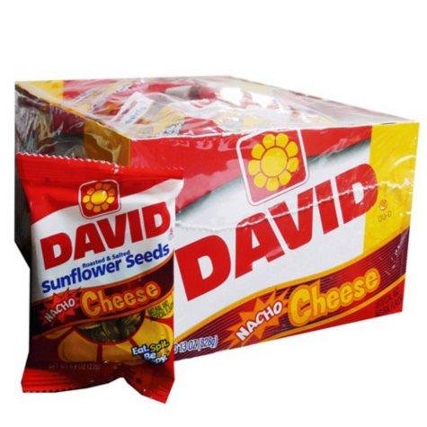David® Sunflower Seeds Nacho Cheese - 36 ct.