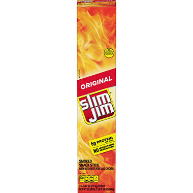 Giant Slim Jim Snacks (24 ct.)