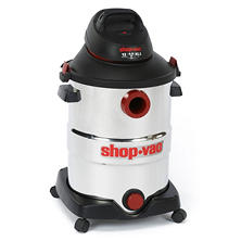 Shop-Vac Stainless Steel Wet/Dry Vac - 6.0 Peak HP - 12 Gal