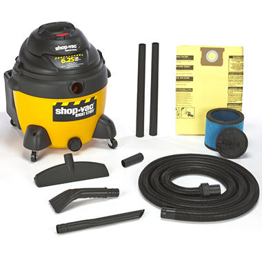 Shop-Vac Industrial Wet/Dry Vac - 6.25 Peak HP - 16 Gal