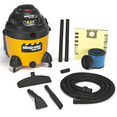 Shop-Vac Industrial Wet/Dry Vac - 6.5 Peak HP - 18 Gal