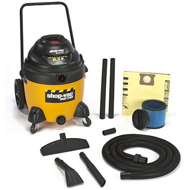 Shop-Vac Industrial Wet/Dry Vac With Cart - 6.5 Peak HP - 18 Gal