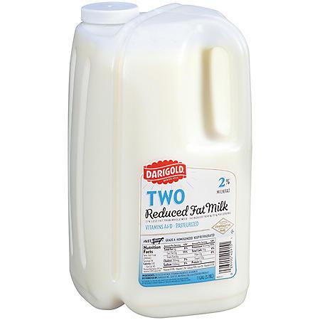 Darigold 2% Reduced Fat Milk (1 gallon)