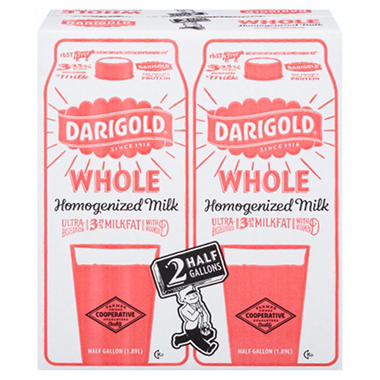 Darigold Whole Milk (64 oz. Carton, 2 ct.)