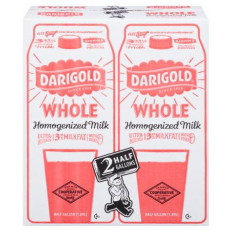 Darigold Whole Milk (64 oz. Carton, 2 ct.)