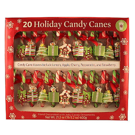 Holiday Candy Canes - 20 ct.