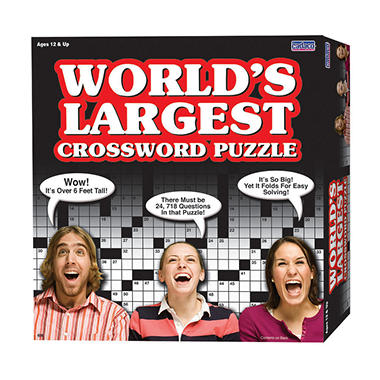 World's Largest Crossword Puzzle