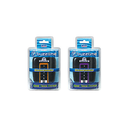 Buzztime Home Trivia System Controllers - 2 pk.