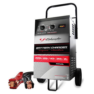 Schumacher Wheeled Electric Battery Charger