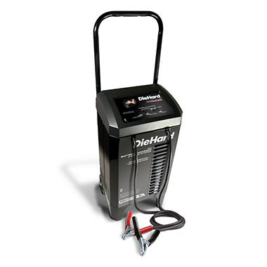 DieHard Manual Battery Charger with Engine Starter