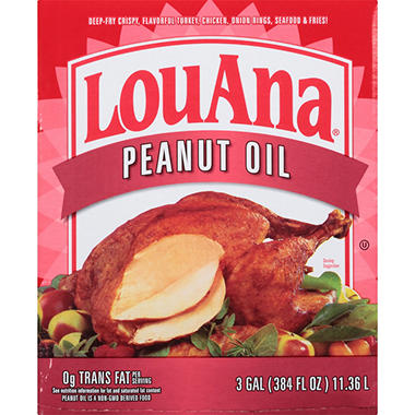 LouAna® Southern Frying Oil Blend - 3 gal.