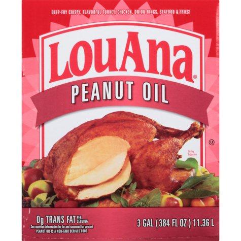 LouAna Soybean & Peanut Oil Blend (3 gals.)