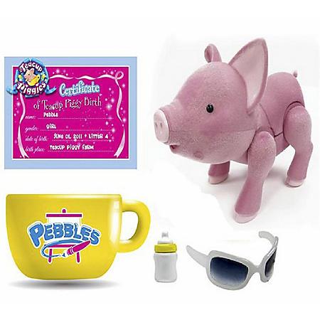 Teacup Piggy Summer Basic Set with Accessories - Pebbles