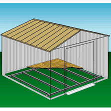 10' ? 8' Arrow Shed Foundation Kit