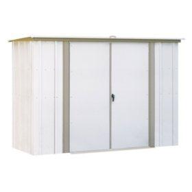 8' x 3' Arrow Garden Steel Storage Shed