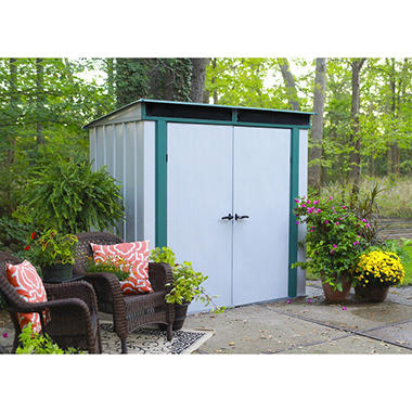6u0027 X 4u0027 EuroLite Steel Lean To Storage Shed