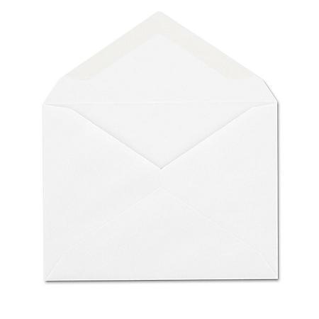 Columbian Invitation Envelope, Gummed, Contemporary, #5 1/2, White (100 Pk.)